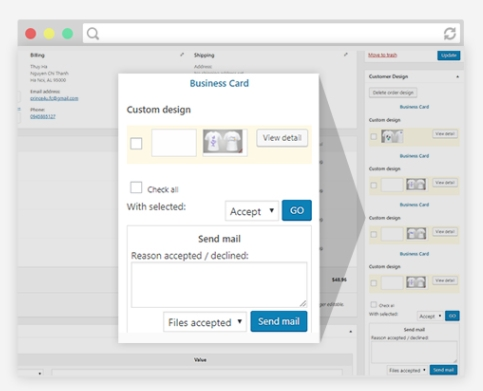 MANAGE ORDER AND CUSTOMER