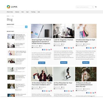 GRID BLOG PAGE WITH 3 COLUMNS