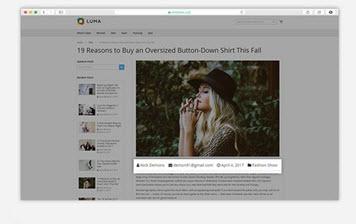 Blog Post Information