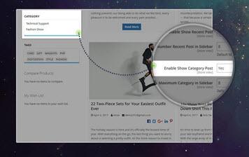 Content Navigation through Category