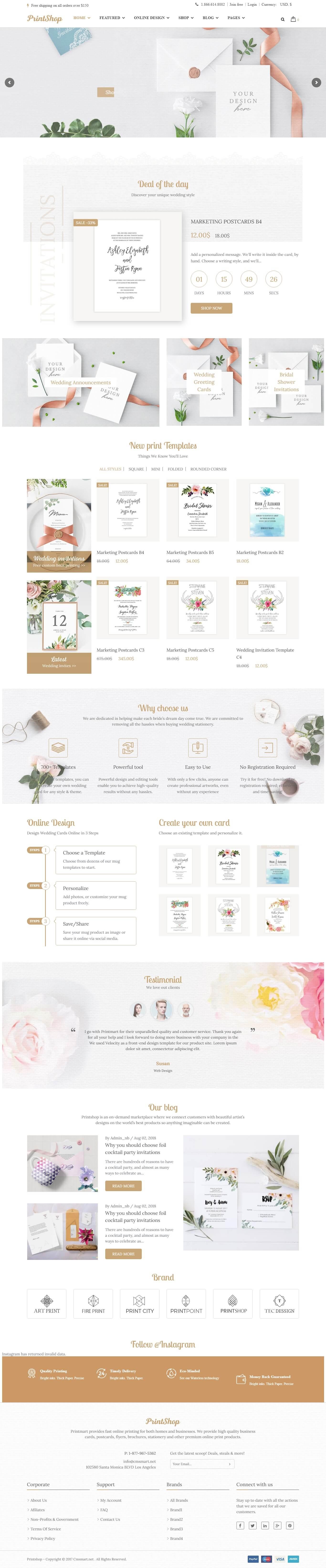 Wedding Card Printings