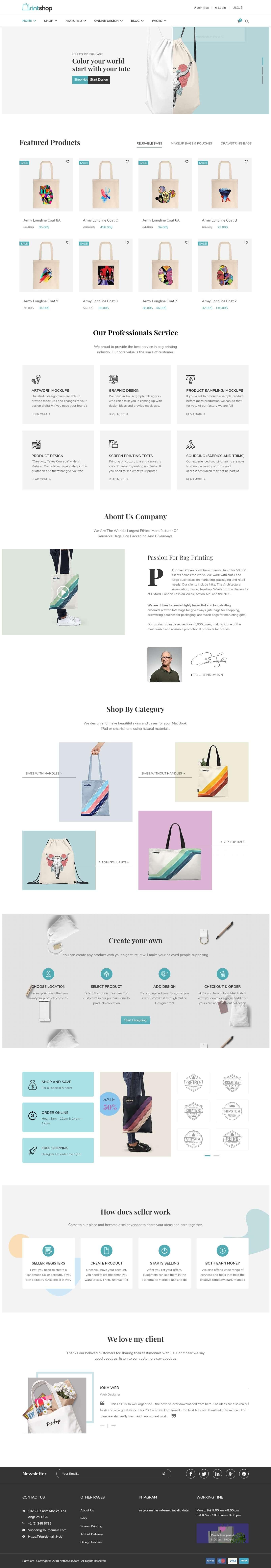 Tote Bags Printings