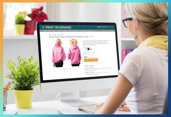 Woocommerce print on demand