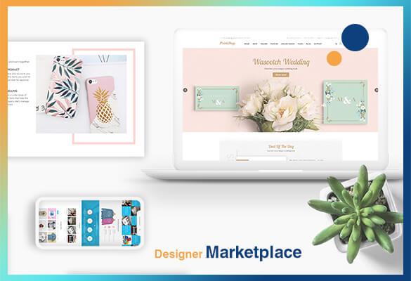 Designer Marketplace for Your Printshop