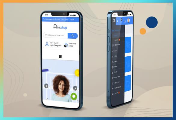Develop Mobile App For Printshop