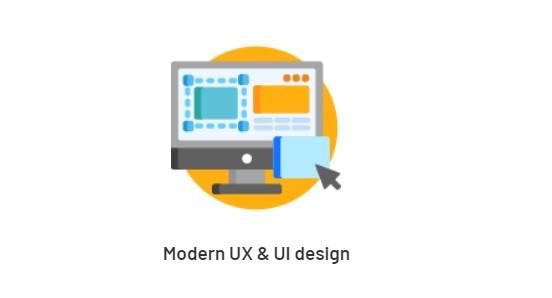 Modern UX & UI design