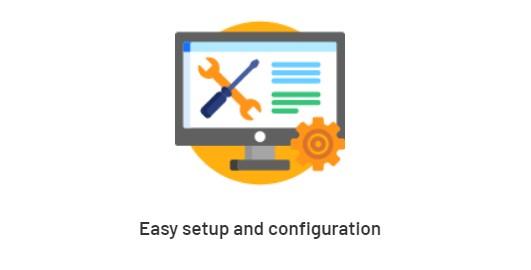 Easy setup & configuration