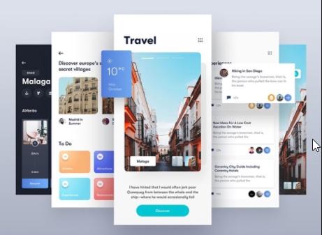 Custom Designed Travel Website