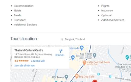 Location Google Map