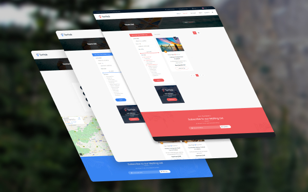 Multiple Service Layouts