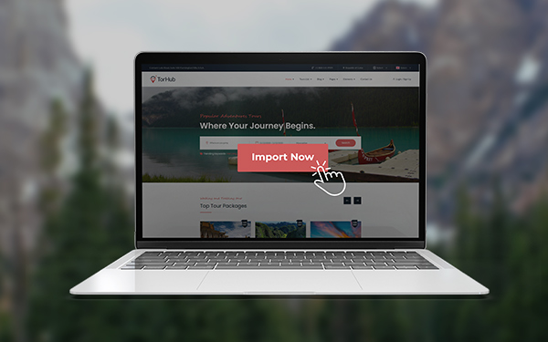 One-Click Content Import