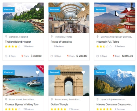 Unlimited Trip Listing
