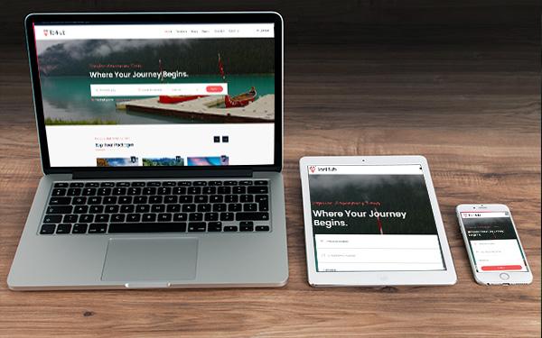 Fully Responsive Travel Website