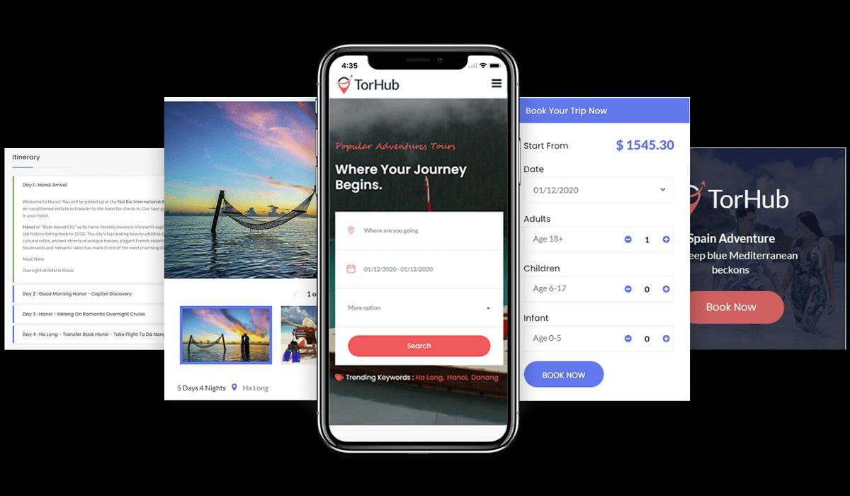 TorHub - Travel Agency Wordpress Theme and Booking Solution Workflow