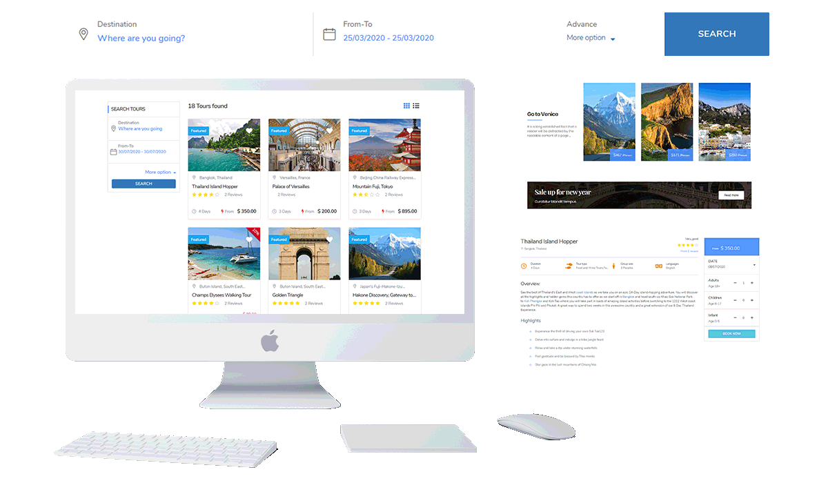 WP TRAVEL | Travel Agency Wordpress Theme and Booking Solution Workflow