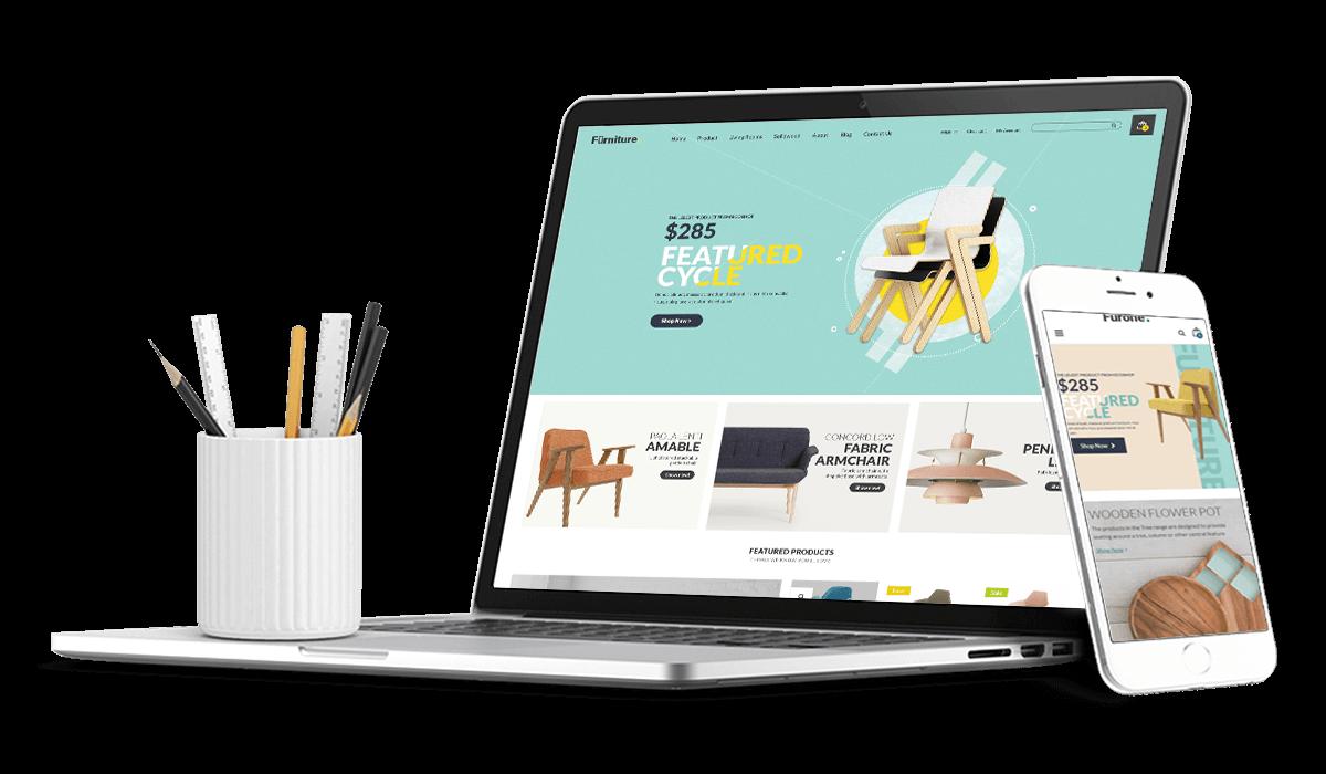 Furnione - WooCommerce WordPress Theme for Furniture Store Workflow