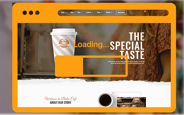 FAST LOADING PAGE
