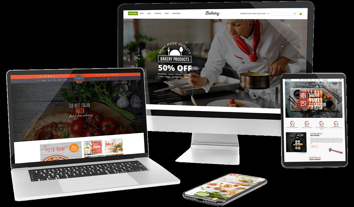 Foody - WordPress Restaurant Reservation & Food Store Website Theme Workflow