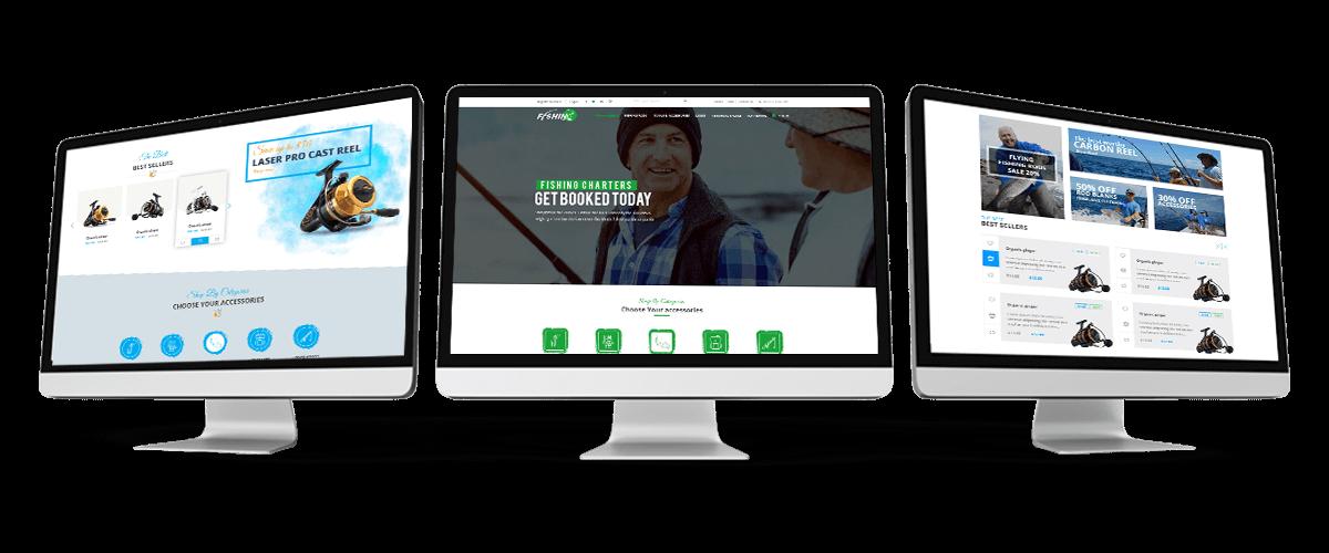 Fishing Store For WordPress Theme Workflow