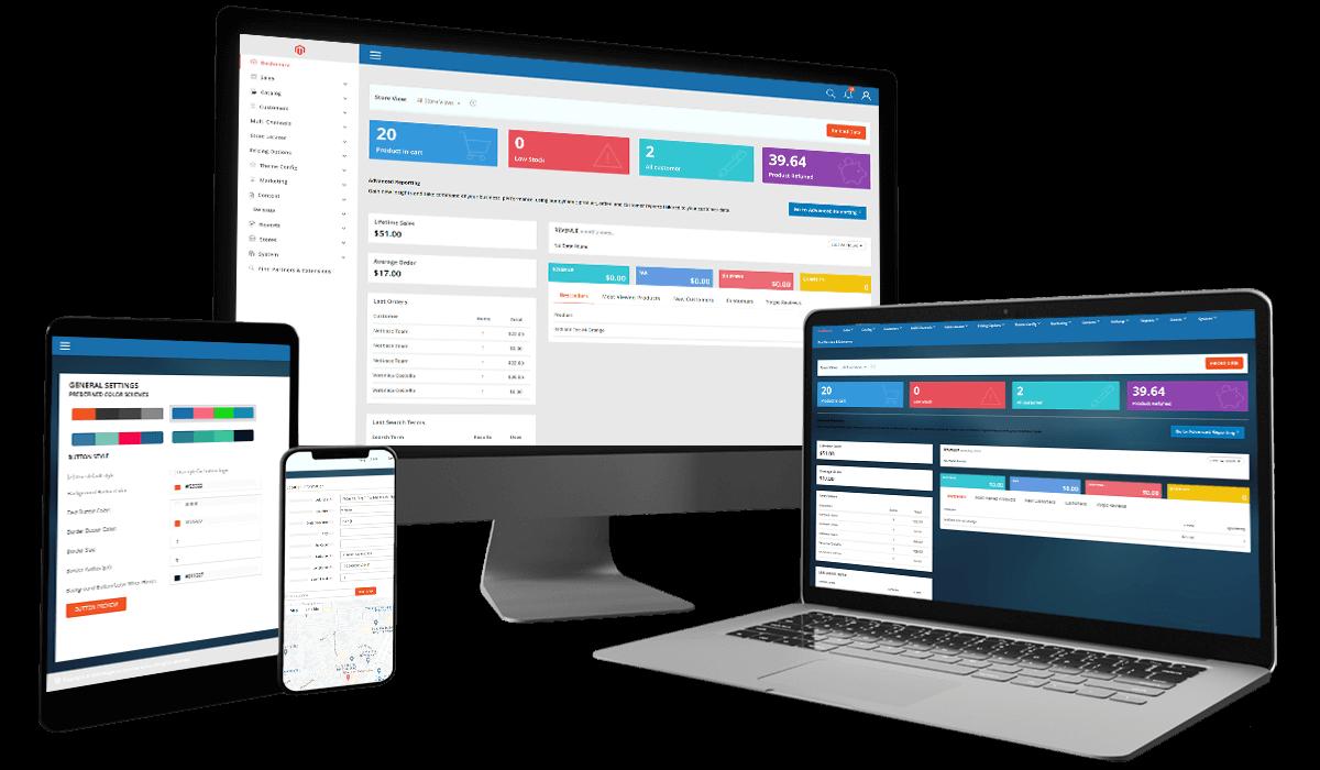 MPANEL   Magento Responsive Admin Template Workflow