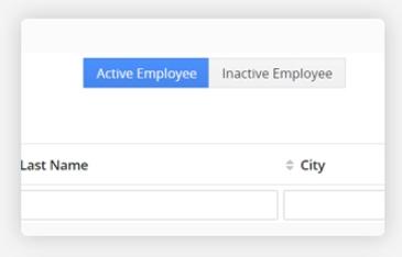 Active / Inactive Employee