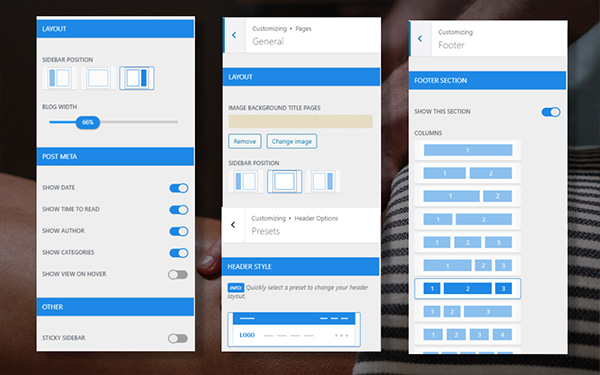 MULTI LAYOUTS FOR PRODUCT DETAIL PAGE