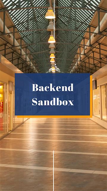 Backend SandBox