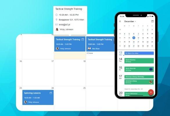 WordPress Schedule Calendar Management
