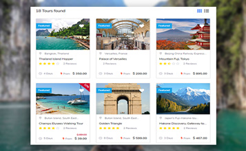 Unlimited travel packages