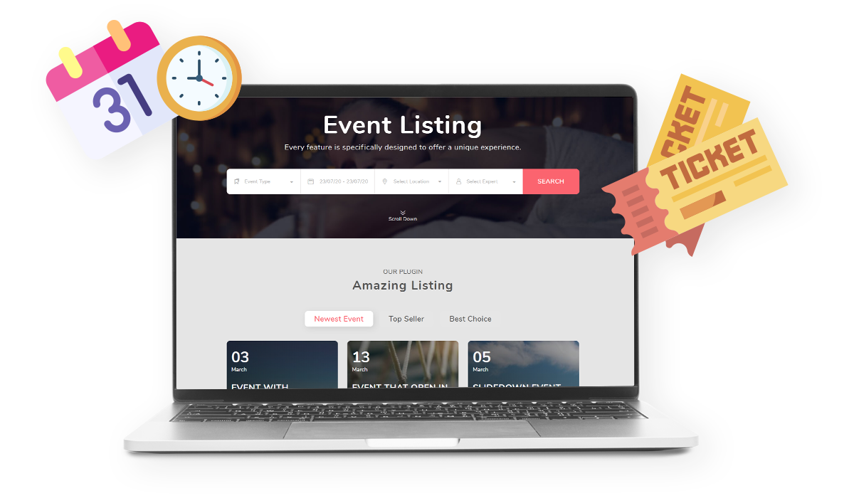 WPEvent – WooCommerce Event Ticket & Calendar Workflow