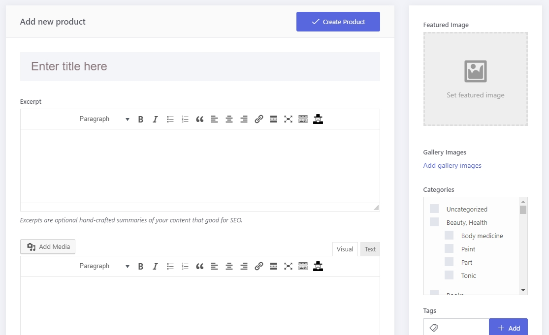 SUBMIT WOOCOMMERCE PRODUCT FRONTEND