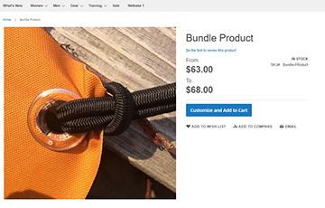 Bundle Product Addon