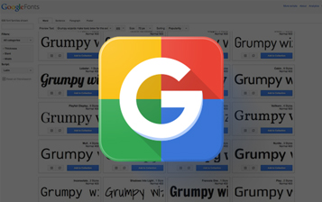 Various Google Fonts