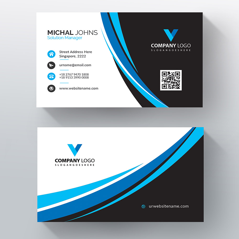Business Card – Advanced Options – Group as Panel