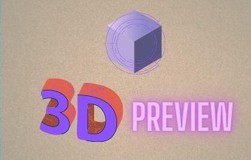 3D Preview Customization Service