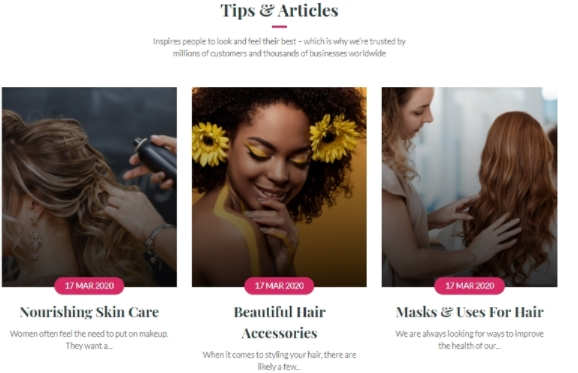 Beauty Tips & Article