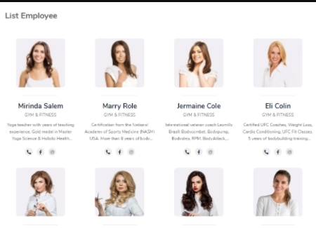 salon employee profile