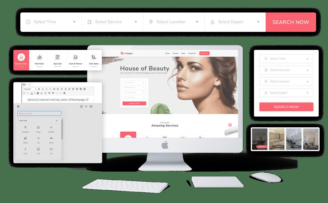 WPSalon   WordPress Salon Booking & Appointment Solution Workflow