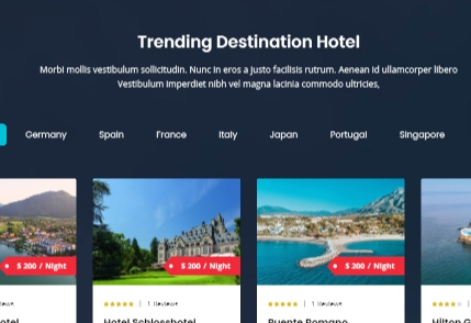 International hotel locations