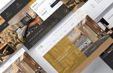 Beautiful hotel Print Collateral