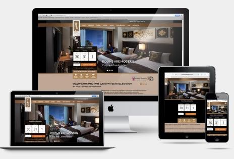Building Custom Hotel Website
