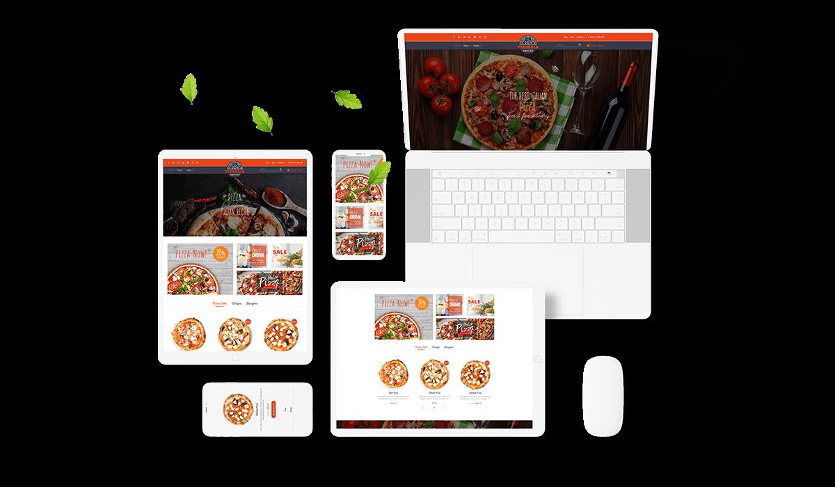 Pizzeria - Pizza Restaurant WooCommerce Wordpress Theme Workflow