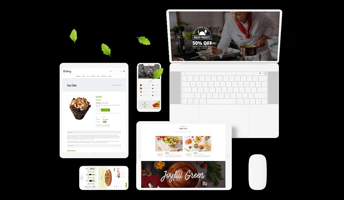 Bakery Goods - WordPress Cake & Food Theme Workflow