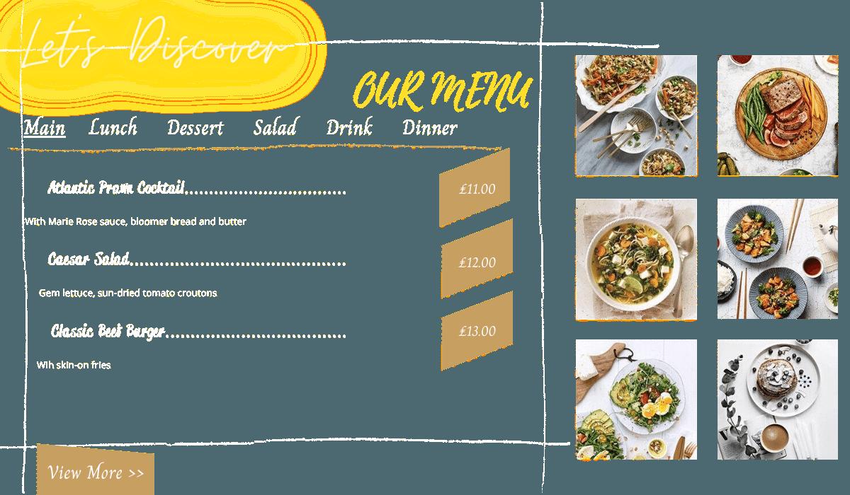 RestaFoo - WordPress Themes For Restaurant   Workflow