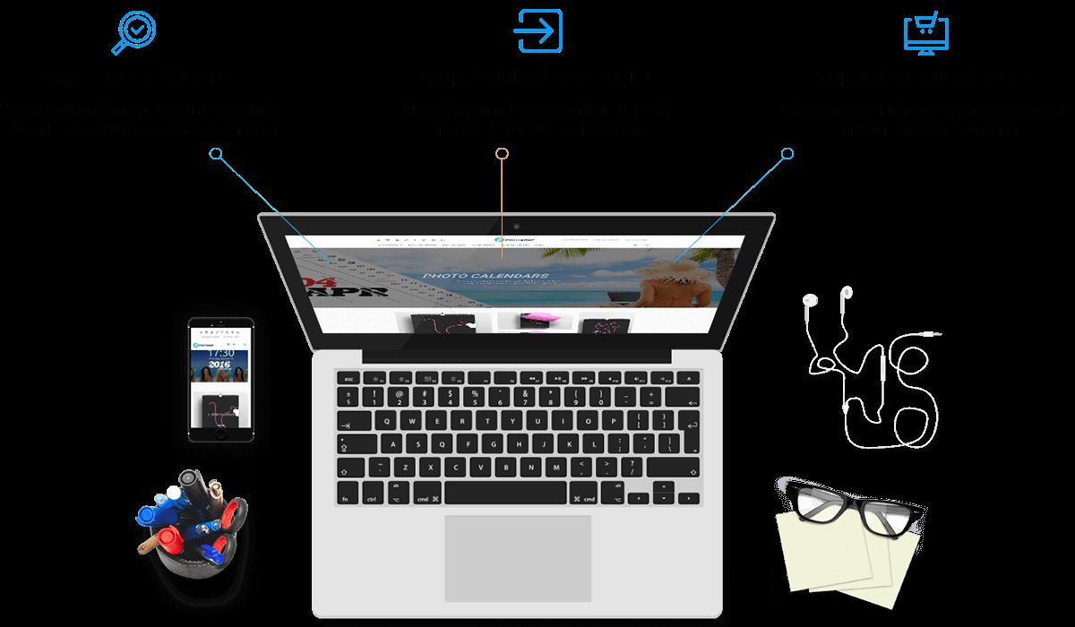 Magento Calendar Printing Website Theme Workflow