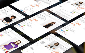 Multi layouts for product