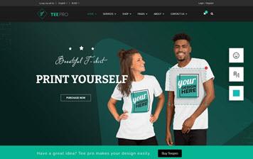 T-SHIRT BUSINESS WEBSITE DEVELOPMENT
