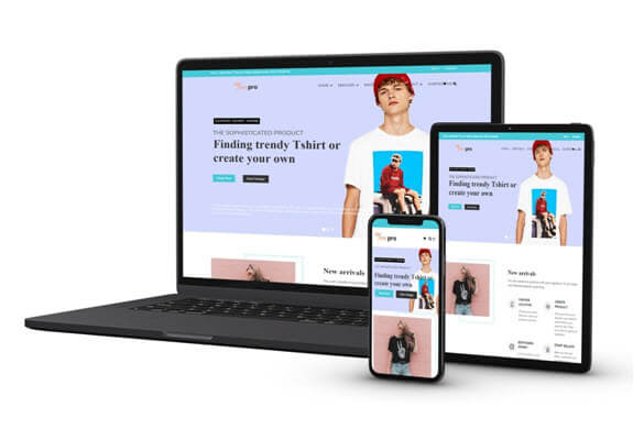 ULTIMATE RESPONSIVE SHOPIFY TSHIRT STORE