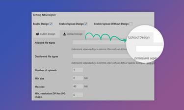 Upload Design