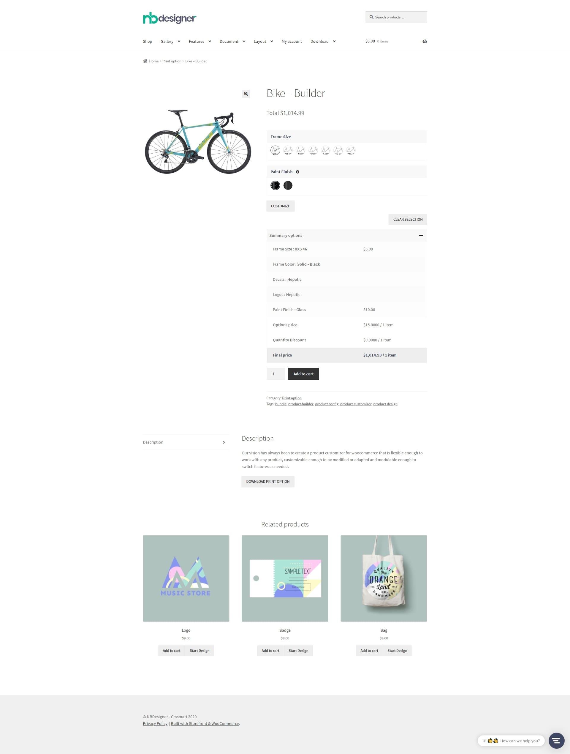 Bike Builder
